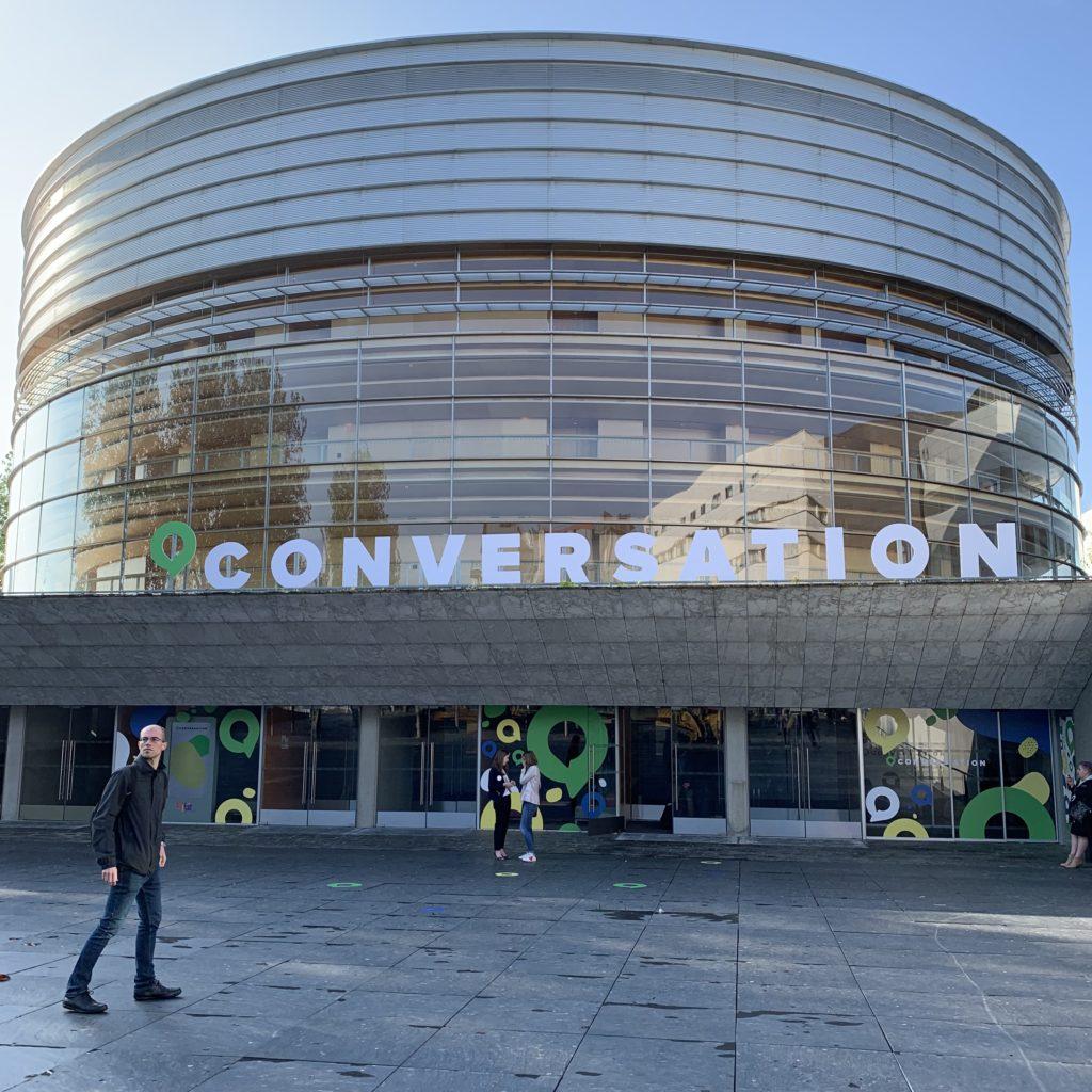 Conversation au Centre des Congrès à Nantes le 23 mai 2019 : évènement consacré entièrement aux agents conversationnels