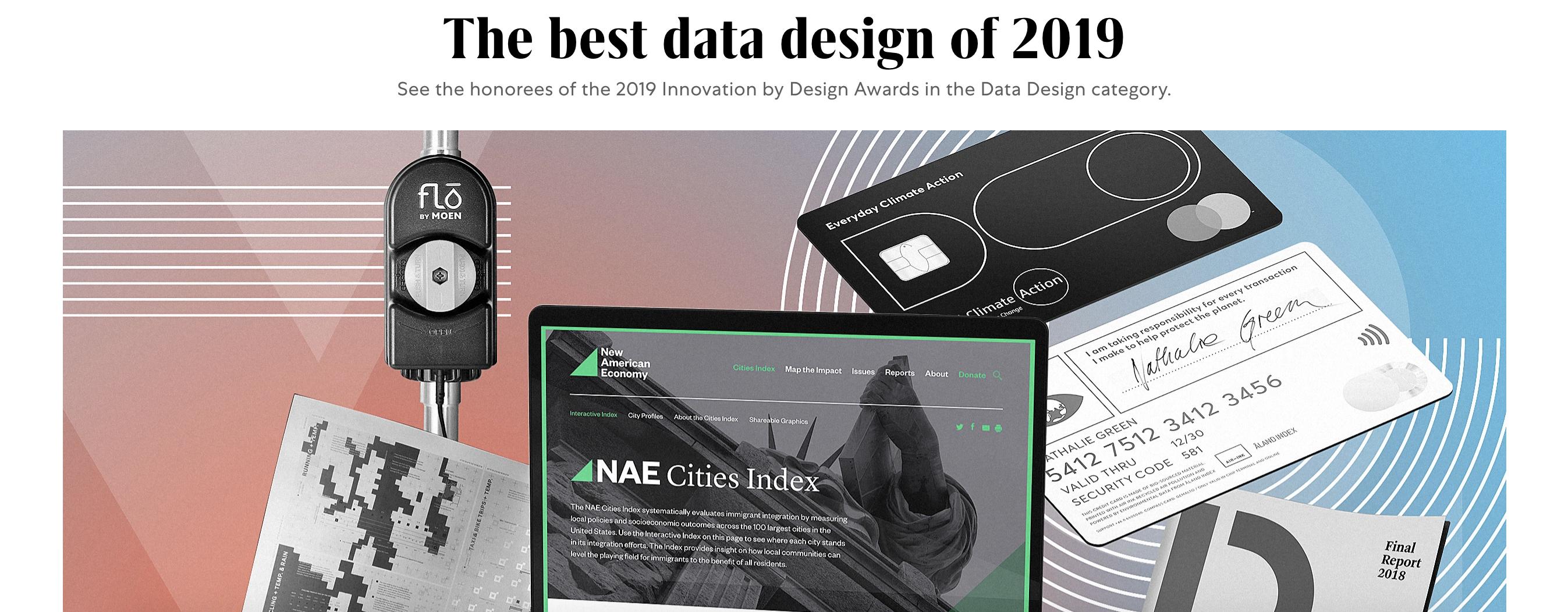 The best data design of 2019